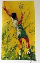 TENNIS BY LEROY NEIMAN