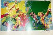 GOLF CHAMPIONS BY LEROY NEIMAN