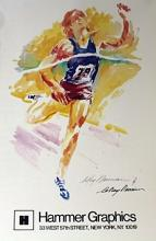 TRACK AND FIELD BY LEROY NEIMAN