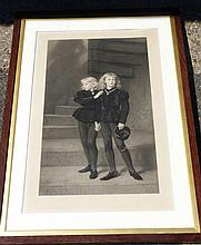 John Everett Millais Signed Black and White Etching after Samuel