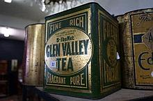 Australian Glen Valley tea tin