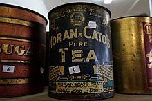 Australian Moran & Cato's pure tea tin