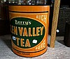 Large Glen Valley tea tin