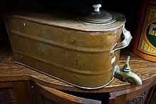 Antique copper & brass water fountain