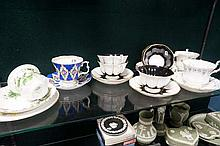 Assorted Royal Albert c s & ps & cups & saucers