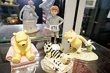 4 Royal Doulton Winne the Poo figures