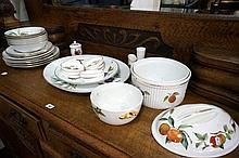 Assorted Royal Worcester Evesham china
