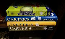 4 Carters price guides 1997, 2000 & 2008
