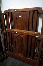 Pr blackwood single beds with rails