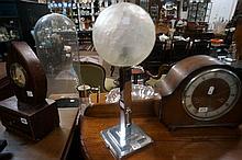Art Deco 1930's chrome table lamp
