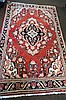 Moshgabad woollen rug from Southern Iran c1910 200