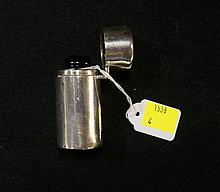 S/silver cased scent bottle