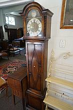 1930's oak barley twist electric westminster chime Grandmother clock