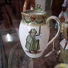 R/Doulton Watchman, 'What of the night' jug