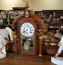 Ansonia King mantle clock