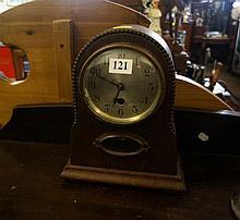 1920's oak clock