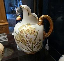 Large R/Worcester blush ivory jug