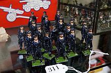 Set of 20 vintage Britains Royal Navy Bluejacket no 49N