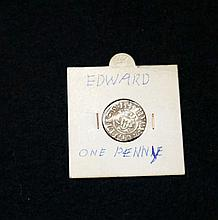 Edward I Silver hammered penny in near mint condition