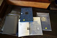 3 Australian stamp albums 1982, 1988 & Federation collection