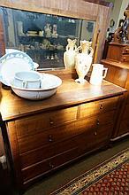1920's blackwood dressing chest