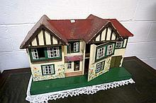 Childs 1930's dolls house
