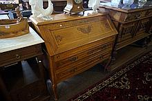 French oak bureau