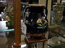 Victorian Minton majolica vase