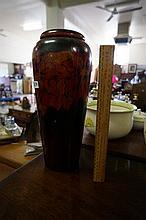 Large Australian pokerwok vase