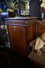 19th Century French oak cupboard