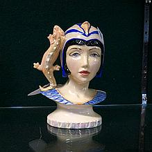 Kevin Francis head Queens of the Nile figure, Xenobia