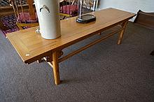 Antique Chinese elm low table