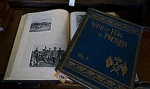 2 Volumes on Boer War 'with the flag to Praetoria'