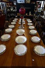 Extensive Limoges Dinner set inc 41 dinner plates, tureens, copmport etc