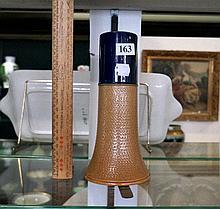 Doulton Slaters blue neck vase