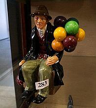 R/Doulton figure, The balloon man HN 1954