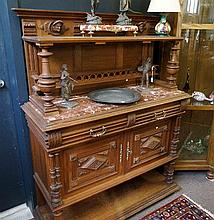 19th Century French carved servery