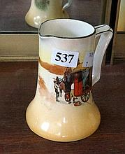 Royal Doulton 11 cm jug, coaching days