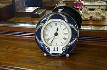 Enamel quartz clock