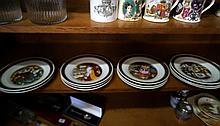 11 Royal Copenhagen Hans Christian Anderson plates