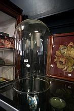 Large Victorian glass dome