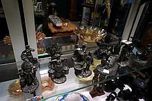 Set of 12 Pewter Dickens figures