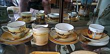 Royal Doulton small jug, coaching days & 3 Royal Doulton C S & P's
