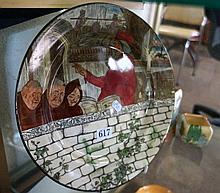 Royal Doulton Jackdaw of Rheims plate