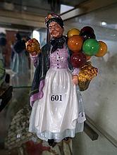 Royal Doulton figure, Biddy Penny Farthing HN 1843