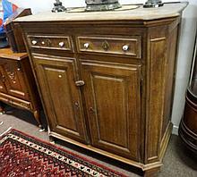 Early 19th Century French Provincial oak dressser base