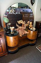 Art Deco Russian birch dressing table