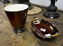 Carltonware Royal Royale vase & dish