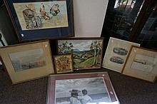 8 prints & paintings