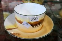 Royal Doulton coaching days farmers cup & saucer